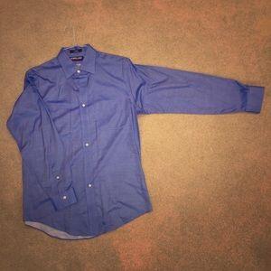 Steel Blue Button Up 🤤